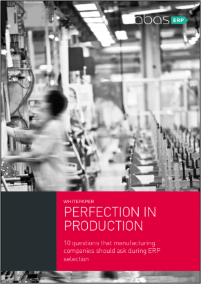 Perfection in Production cover